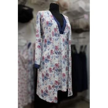 Комплект халат и сорочка ночная